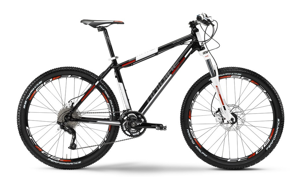 Haibike Attack RX  30-Gang XT, Black  RH50