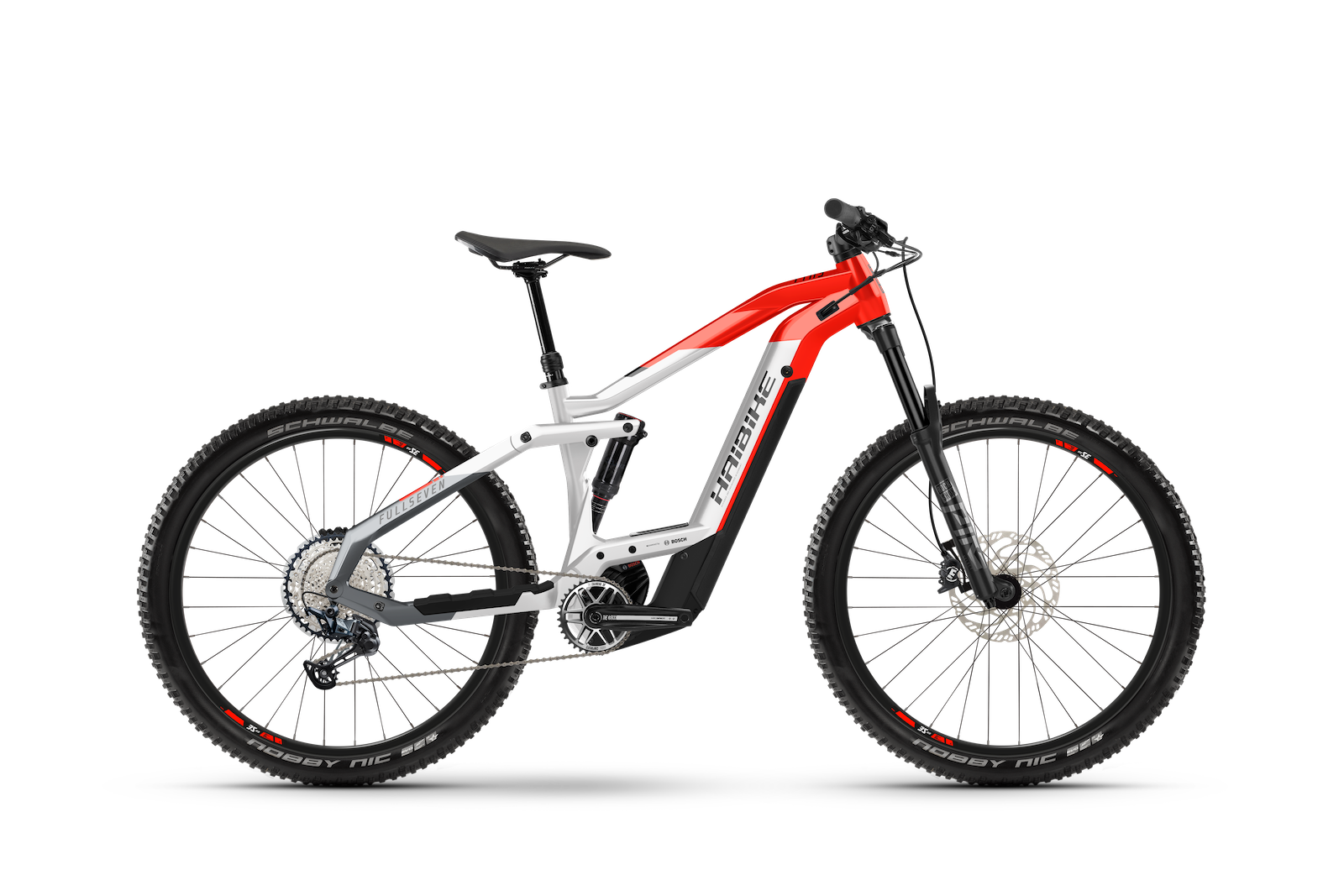 HAIBIKE FULLSEVEN 9 625Wh grey-red 2021