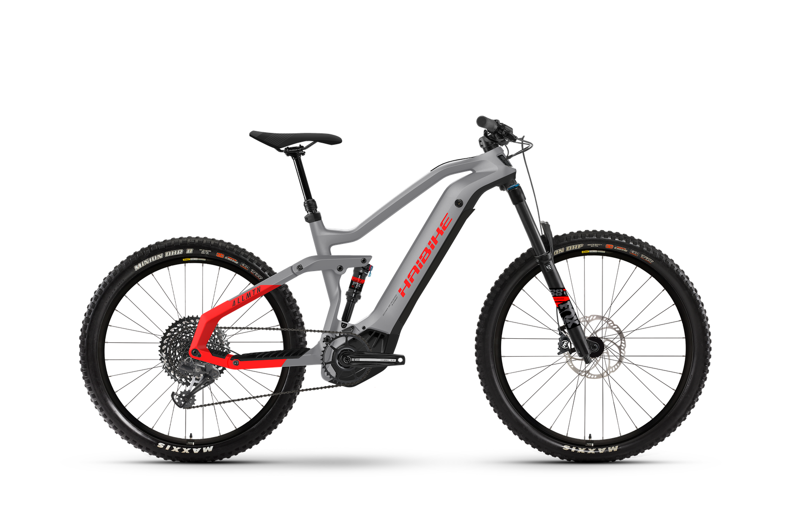 HAIBIKE ALLMTN 6 600Wh grey-red 2021