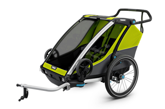 Thule Chariot Cab 2 Chartreuse-Dark Shadow 2020