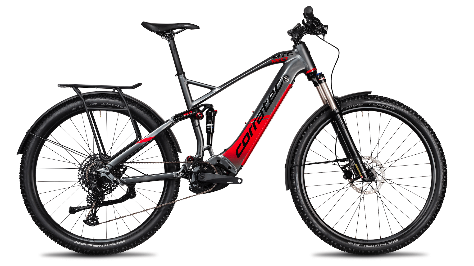 CORRATEC E-POWER MTC 120 EXPERT 625Wh gray-red 2021