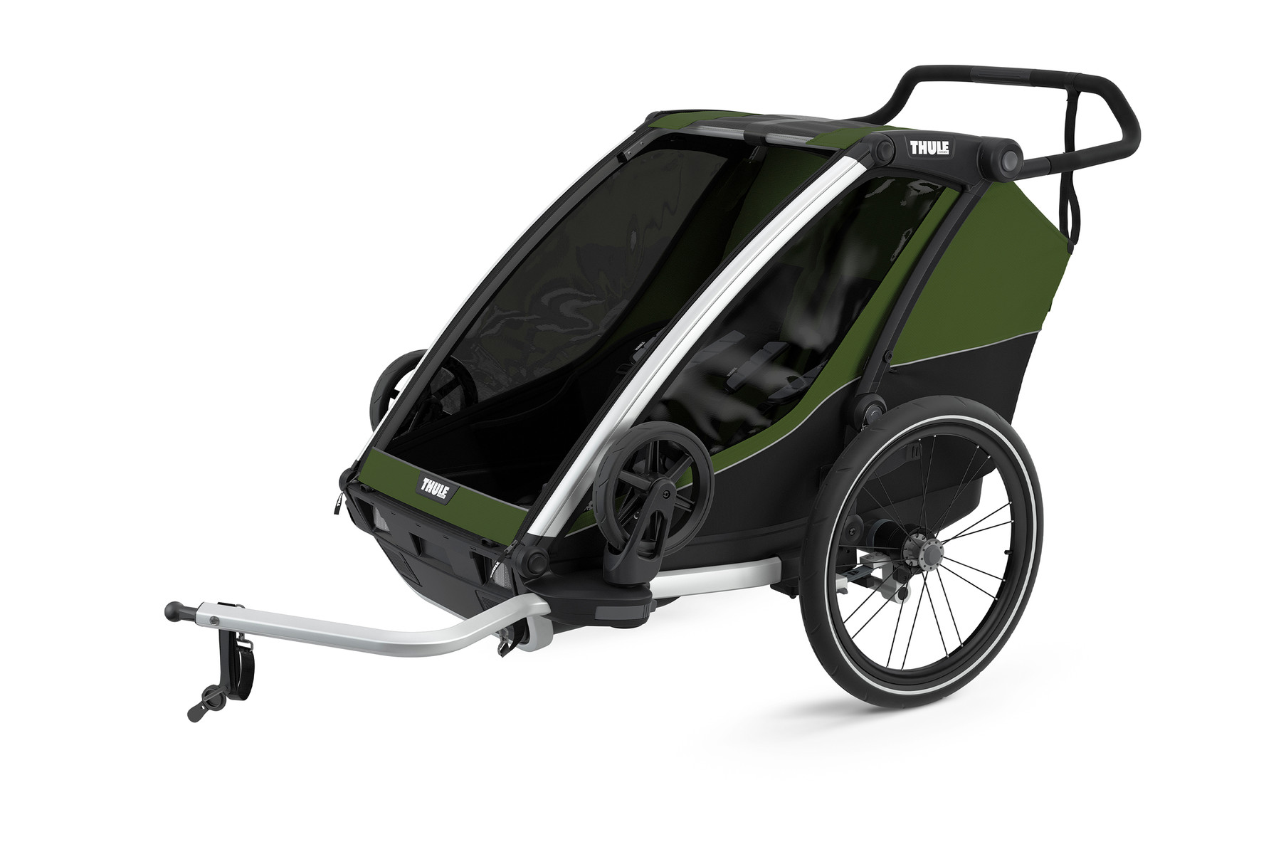 Thule Chariot Cab 2 Cypress-Green 2021