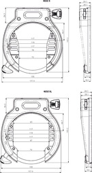 ABUS Rahmenschloss 4650 XL