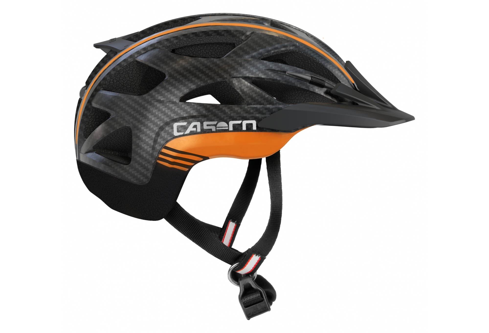 Casco active 2 schwarz-orange
