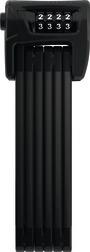 ABUS Faltschloss BORDO Combo  6100/90 black SH