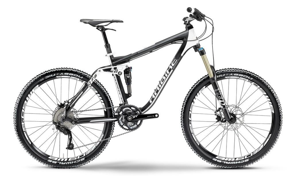 Haibike Q FS SE  30-Gang XT, Black-White  RH48