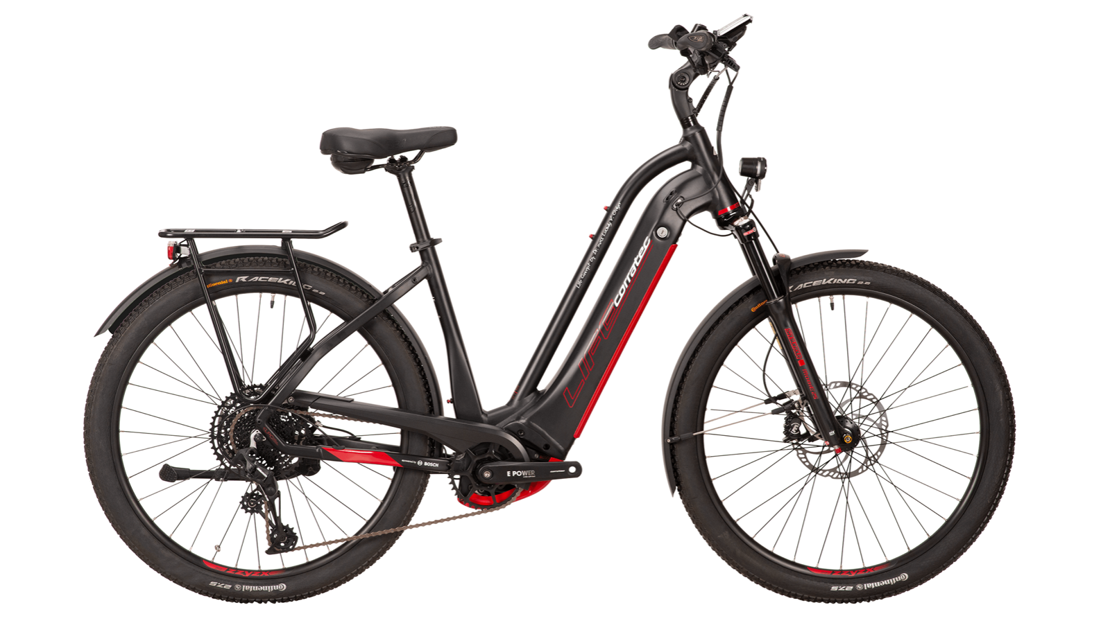 CORRATEC LIFE CX6 12S Connect 625Wh black-red 2021