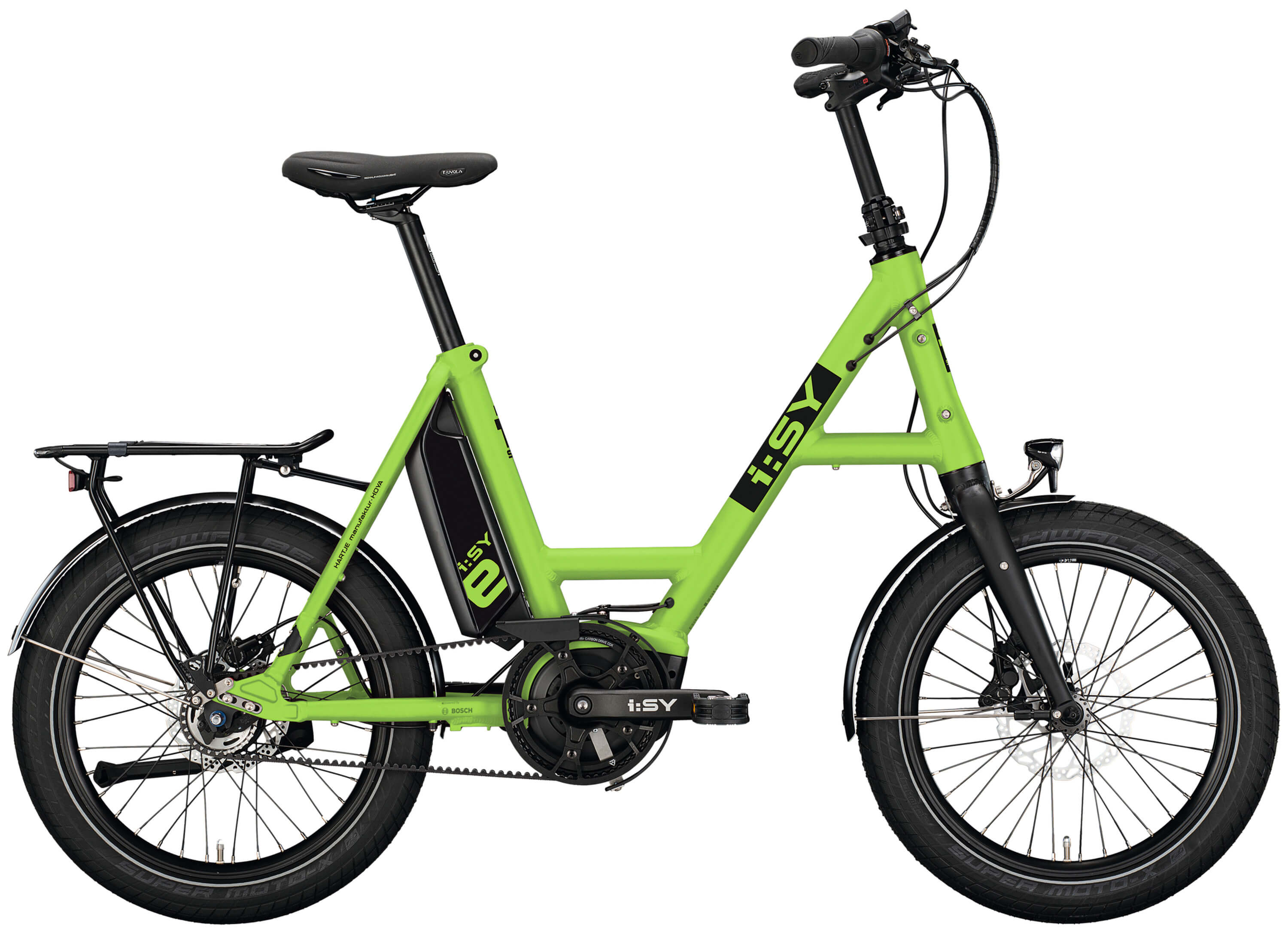 I:SY DrivE E5 ZR 5-Gang 500Wh lightgreen-matt 2021