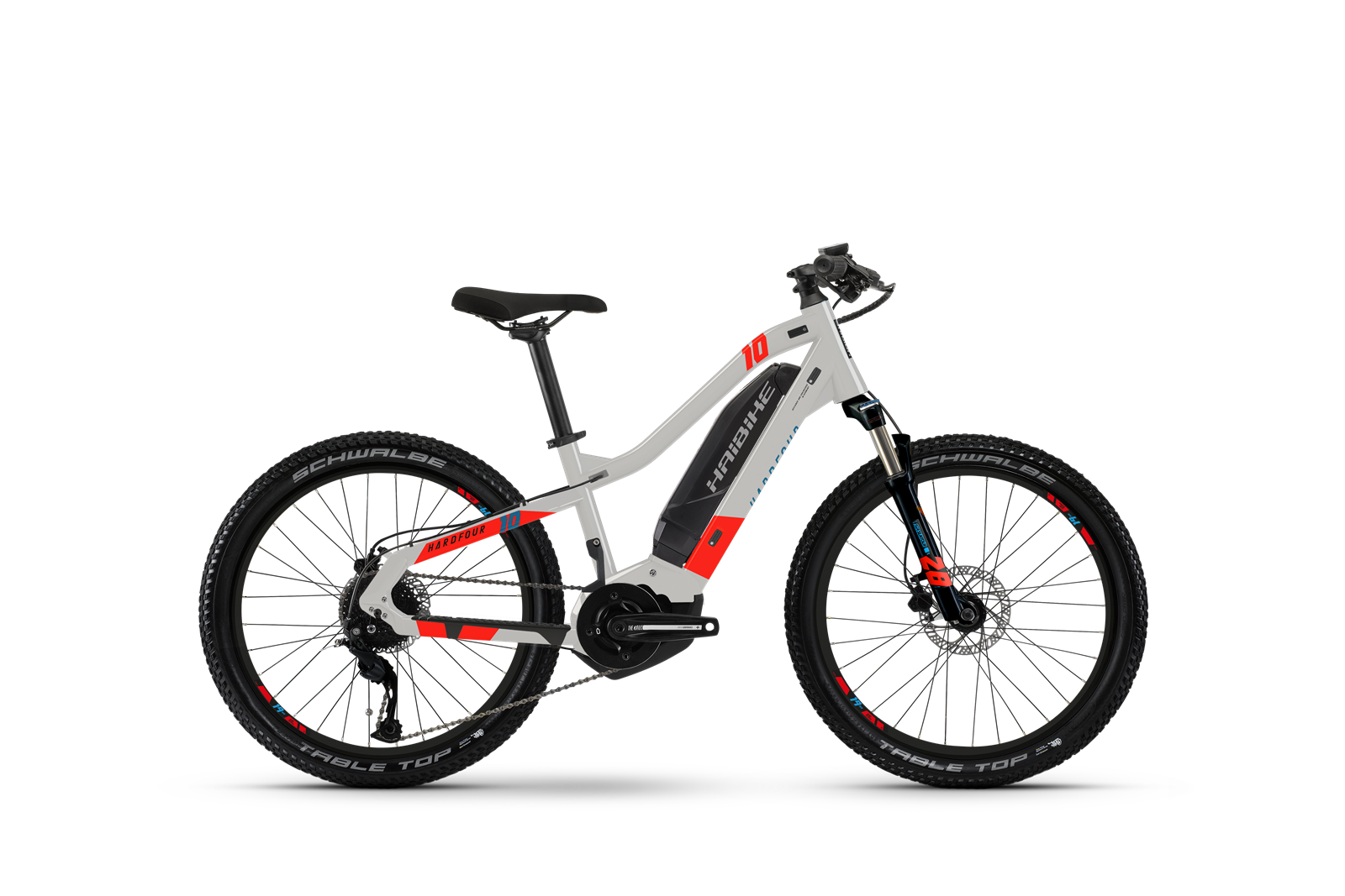 HAIBIKE HARDFOUR Kinder eMTB 400Wh grey/red 2021