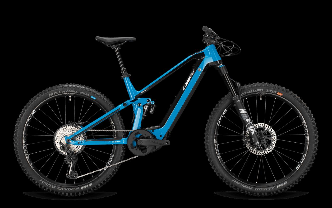 CONWAY XYRON S 527 625Wh blue-black 2021