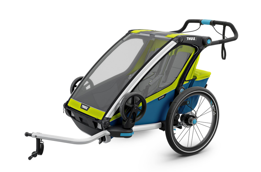 Thule Chariot Sport 2  Chartreuse-Mykonos 2020